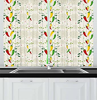 Best mexican style curtains kitchen Reviews