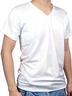 [クレール] CREAL 脇汗パッド付きシャツ(クールマックス ホワイト)2枚組 吸水速乾/多汗症