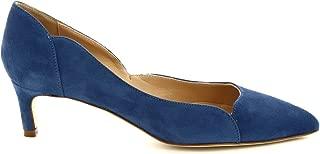 LEONARDO SHOES Luxury Fashion Womens MELEINACAMOSCIOAVIO Blue Pumps   Season Permanent