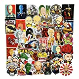 ZUIYIJIANGNAN ONE Punch-Man Anime Stickers(50pcs) Snowboard Laptop Luggage Car Motorcycle Bicycle Fridge DIY Styling Vinyl Home Decor (H-one Punch Man)