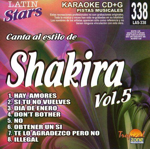 Karaoke: Shakira, Vol. 5 - Latin Stars Karaoke