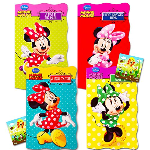 "Disney Minnie Mouse""My First Books"" (Set of 4 Shaped Board Books)"