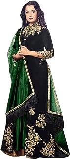 Bollywood Wedding Velvet Heavy Bridal Salwar kameez Suit Dupatta Party Muslim Eid 894