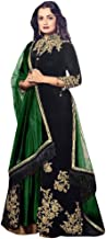 bridal suits with heavy dupatta