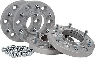 con sigillo T/ÜV e ABE 20 mm per disco//40 mm per asse Distanziali in alluminio 2 pezzi