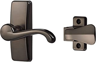 Ideal Security Inc. SKGLWORB GL Lever Set For Storm and Screen Doors Touch of Class, Easy to Install, 2-Piece, Oil Rubbed ...