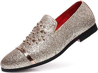 estilo limitado comprar genuino grandes ofertas Amazon.es: zapatos dorados fiesta - Zapatos para hombre ...