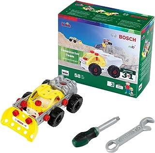Theo Klein 8792 Bosch 3 in 1 Constructor Team Construction Set, Toy, Multicolour