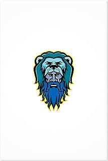 Noir Gallery Hercules Wearing Lion Skin Mascot 11