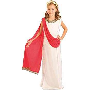 El Carnaval Disfraz Romana niña Infantil Talla de 8 a 10 años ...