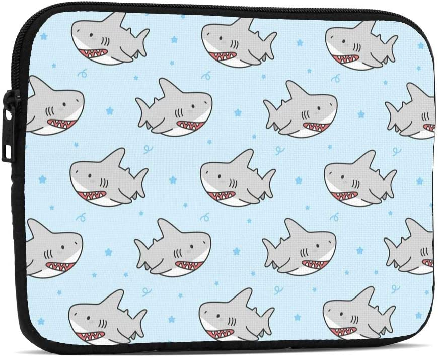 KXT Cute Fresno Mall Shark Pattern Tablet Sleeve Same day shipping C Proof Case Drop Water Bag