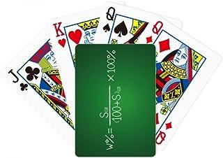 Chemistry Kowledge Solubility Formula Poker Playing Magic Card Fun Board Game