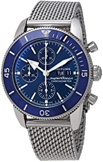 Breitling Superocean Heritage II Chronograph Automatic Chronometer Blue Dial Men's Watch A13313161C1A1