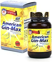 Hsu's Ginseng SKU 1066   American Gin-max, 90 Count   Cultivated Wisconsin American Ginseng Direct from Hsu's Ginseng Gardens   许氏花旗参濃縮錠   90ct Bottle, 西洋参, 10% Ginsenocides, B00GK5VWB0