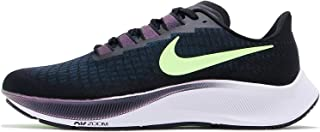 NIKE AIR ZOOM PEGASUS 37 MEN'S RUNNING SHOE BLACK/LIME BLAST-VALERIAN BLUE BQ9646-001