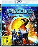 Pixels [3D Blu-ray]
