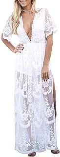 Best white lace maxi romper Reviews