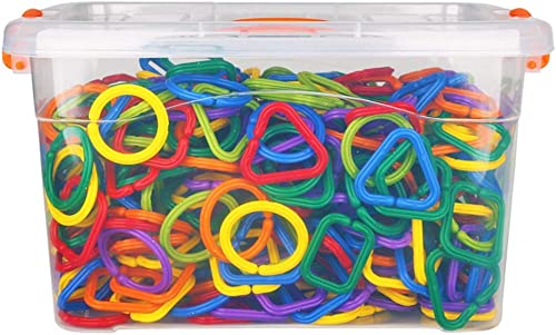 diseño único DorisAA-Toy Conjunto de Juguete Bloques de de de construcción geométricos Hebilla de plástico Puzzle de Cadena Bloques de construcción Juguetes Suministros de educación temprana  precios ultra bajos