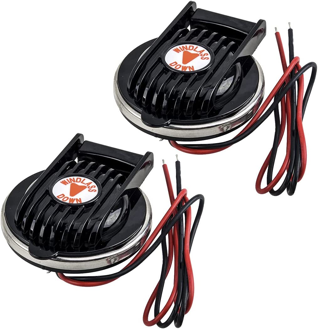 CITALL 2Pcs Universal Luxury Anchor Windlass Foot Switch Popular product for Bo Compact