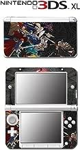 Fire Emblem Warriors Musou RPG Chrom Video Game Vinyl Decal Skin Sticker Cover for Original Nintendo 3DS XL System