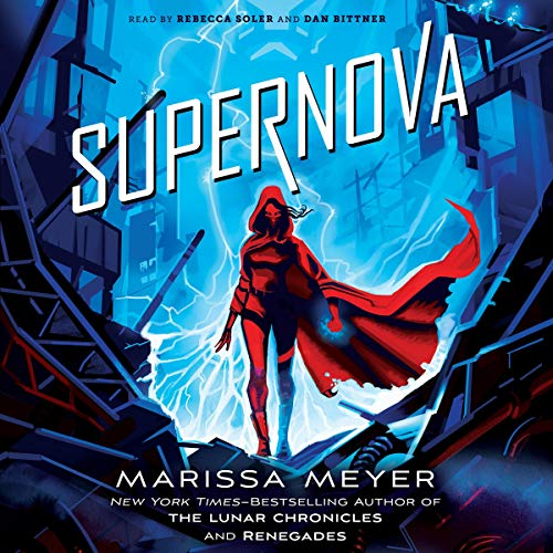 Supernova audiobook cover art