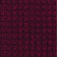 Box Partners ウォーターホッグマット 4×4インチ Mサイズ レッド/ブラック (MAT159RB)