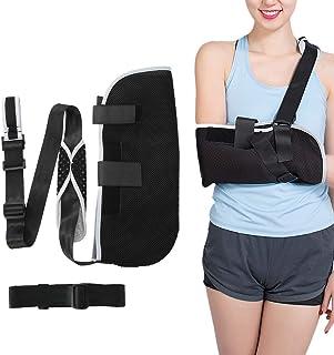 Cabestrillo, inmovilizador de hombro ajustable, soporte suave y transpirable para esguince de muñeca, fractura de antebraz...