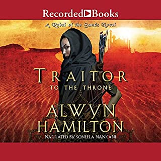 Traitor to the Throne audiobook cover art