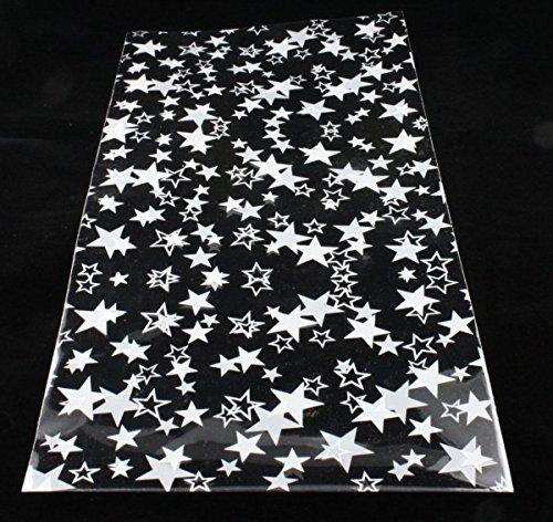Bolsa Decorado Estrellas Para Detalles 10 x 30 cms