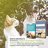 PetPäl Wohlfühl Hundebürste | Effektive Unterwollbürste | Massage Fell-Entfilzungsstriegel | Enthaarungs-Bürste | deShedding | Universal-Striegel für Mittel bis Langhaar | Schmerzfreies Ausdünnen | Effiziente Fellpflege | 2 Gratis Abstracts | 100% PetPäl-Zufriedenheitsgarantie (Blau) - 7