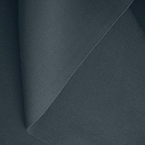 50cm klassischer Zelt-Stoff/Segeltuchstoff Meterware WASSERDICHT - Breite: 205cm aus 100{0179a102583ddf2d2237ef60860603d3a68a35e04b00b0ef8af7ad71051b5ec7} Baumwolle (Dunkel-Grau)
