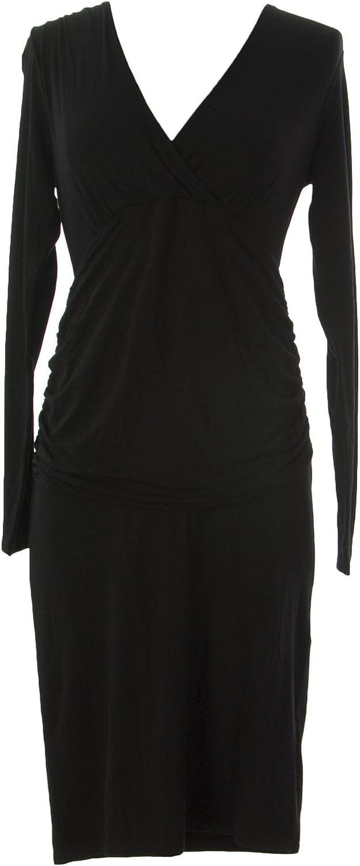BODEN Women's Long Sleeve Sheath Dress US Sz 4 Black