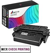 ABCink 1 Pack 5M Printer MICR Black Toner Cartridge Replacement for HP Laserjet 5M Printer MICR Toner Cartridge -6,800 Pages