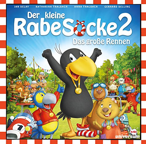 Der Kleine Rabe Socke 2 - Das Große Rennen (Hörspiel)
