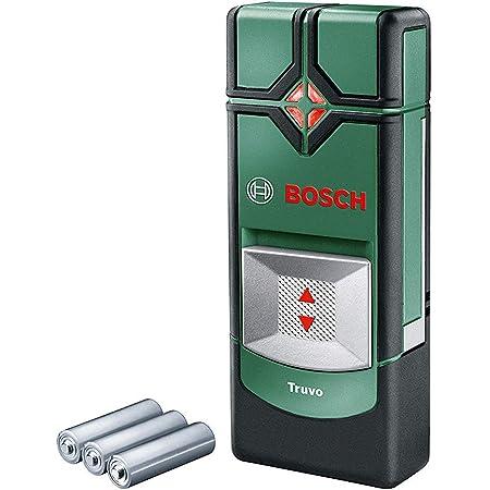 Bosch Ortungsgerät Truvo (für Metall & stromführende Leitungen in 70/50 mm Erfassungstiefe; Kartoninhalt: Truvo, 3x AAA Batterien)