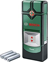 Bosch dispositivo de localización Truvo, profundidad máxima de detección cable vivo/metal no magnético/metal magnético: 50...