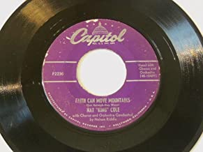 Faith Can Move Mountains / The Ruby And The Pearl VINYL 7