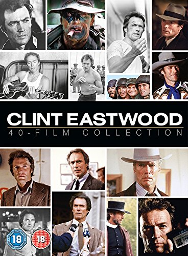 DVD40 - Clint Eastwood 40 Film Collection (40 DVD)