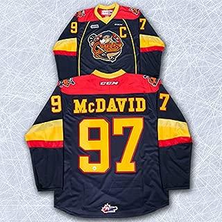 AJ Sports World Connor McDavid Erie Otters CCM Premier Hockey Jersey - Size XL