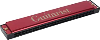 Guitarist red GT-24 Mouth Organ Harmonica 48 holes For Childerns