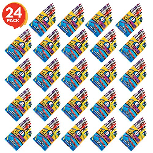 ArtCreativity Mega Crayons Set - 192 Crayons Set - Artistic Crafts and Supplies - Fun Party Favor and Prize for Kids Ages 3+