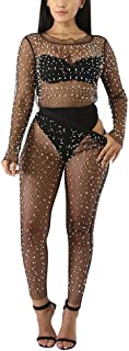 Best mesh pants with pearls Reviews