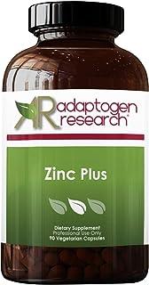 Zinc Plus   30 mg of Zinc Bis-glycinate Chelate & Riboflavin, Vitamin B6, Molybdenum, Taurine, Malic Acid   Supports Immun...