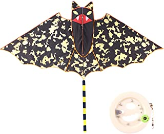 Huge Bat Kite for Kids A Kite Easy To Fly for Outdoor Games Activities Soars High Great Way Enjoy Spend Time with Friends ...