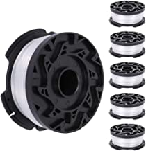 ManLee 6Pcs Black and Decker Strimmer Spool Line Reflex Strimmer Replacement Spool for ST5530-GB GLC3630L20-GB STC1820PC-G...