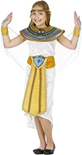 Girls Egyptian Pharaoh Costume Kids Historical Queen of The Nile Outfit