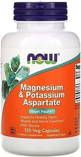 Now Foods Magnesium Potassium Aspartate - 120 Veg Capsules