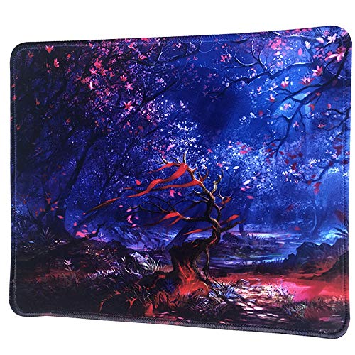 Cmhoo Gaming Mousepad with Rubber 30X25cm Mouse Pads Cute (30x25 senlin005)