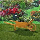 Directachat56 BROUETTE décorative de Jardin,130 cm