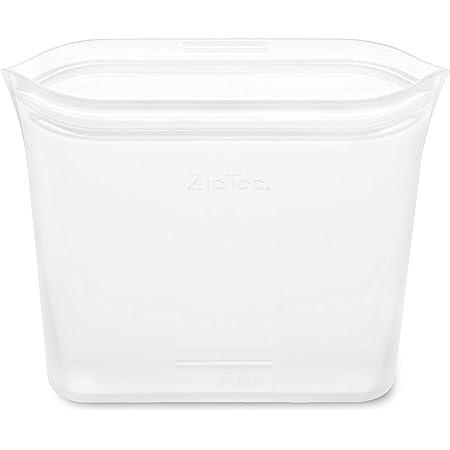 Zip Top シリコン製 保存容器 日本正規品 バッグ サンドイッチ 710ml レンジ 食洗器対応 ホワイト ジップ トップ